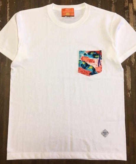 ROMANCE HAWAIIAN W-POCKET T-SHIRTS