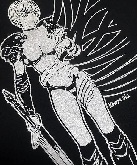 Girl's Knight VS Tentacle T-shirts