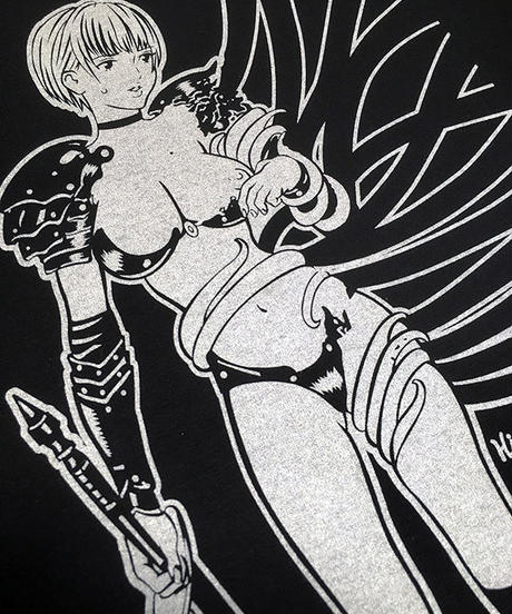 Girl's Knight VS Tentacle LongSleeve T-shirts