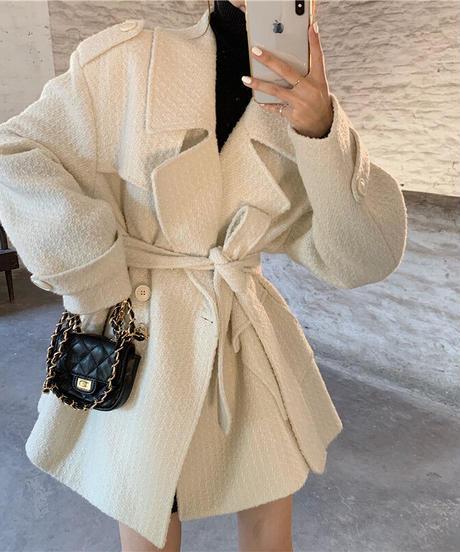 ルーズAラインコート