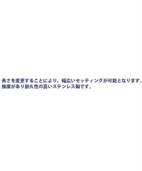 【TP-8705】六角汎用カラー ステンレス マットブラック 全長5mm