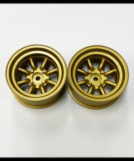 【WAT-120G】RSワタナベ エイトスポークホイル オフセット12 ゴールド