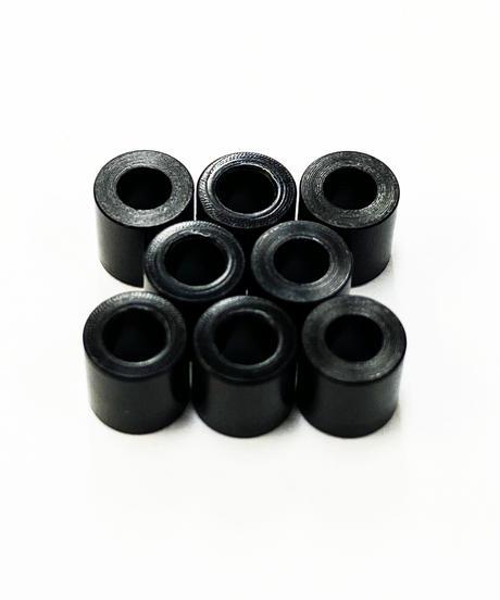 【TP-5150】黒色デルリンスペーサー M2.6用 厚さ5.0mm