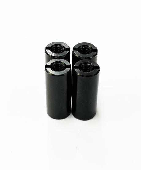 【TP-5614】アルミ汎用カラー ブラック M3.0用 全長14mm