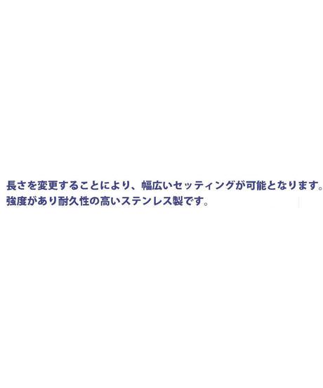 【TP-5008】六角延長カラー ステンレス マットブラック 8mm