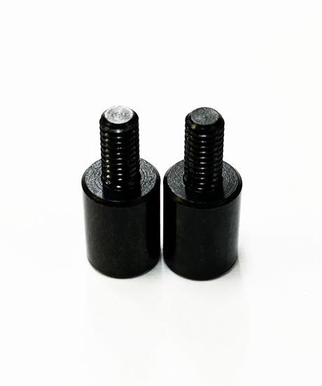 【TP-2108】C足延長カラー ブラックコート 8mm