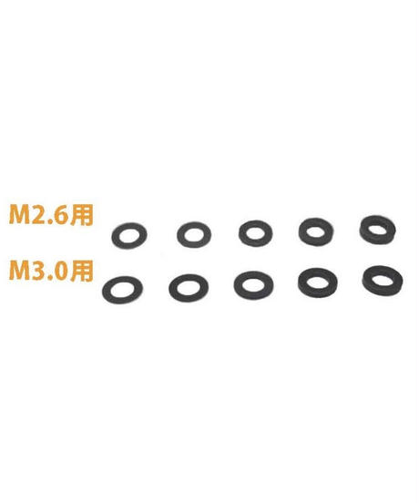 【TP-54100】高分子ポリマーシム M2.6用 厚さ1.00mm
