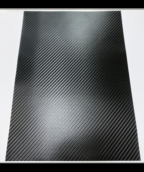 【BF-001CB】ボディ用ラップフィルム カーボンファイバーブラック