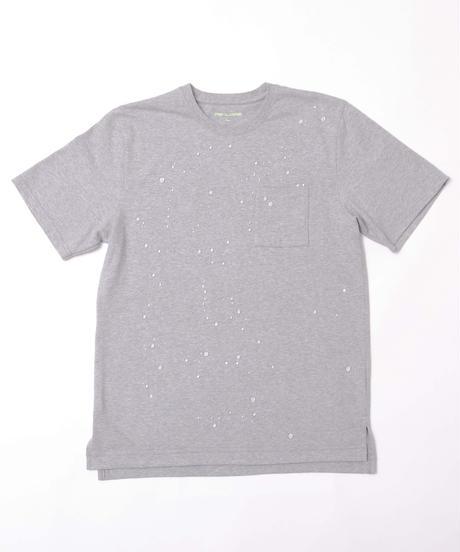 【ベストセラー】雨も汚れも弾く、汗ジミにならないグレーTシャツ 19S-108 追加画像