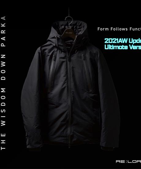 """【予約】2021 UPDATE """"NEW"""" THE WISDOM DOWN PARKA 最強手ぶらダウンジャケット BLACK"""