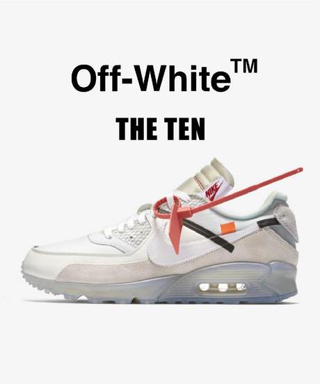 【送料込/最安値】美品NIKE THE TEN : AIR MAX 90/Off-White™