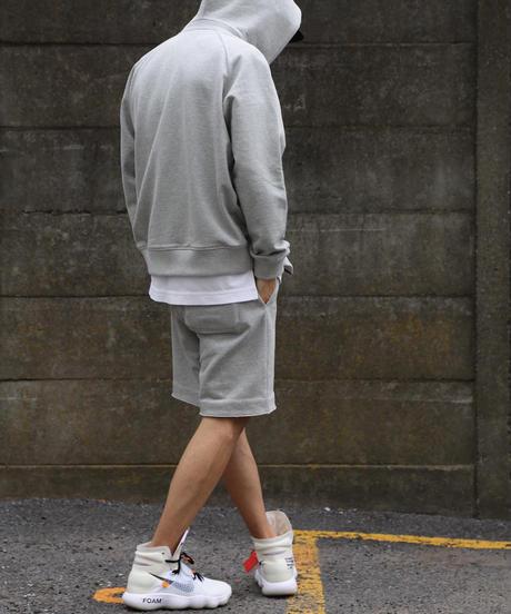 【超撥水】Raglan Zip Hooded Sweatshirt T/GRY 19S-104