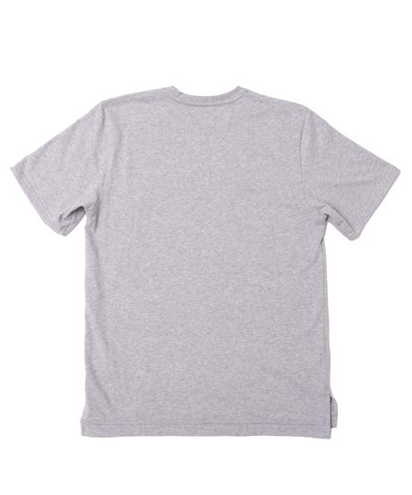 【テレビで話題・汗ジミにならない】Box Pocket Side Slit Tee Heather Gray 19S-108