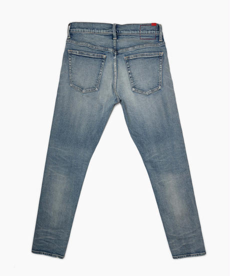 14.5oz Slim-fit Tapered Hyper Stretch Denim Jeans  Light Blue  19S-201