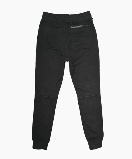 Slim-fit Tapered Sweat Pants BLK 19S-202