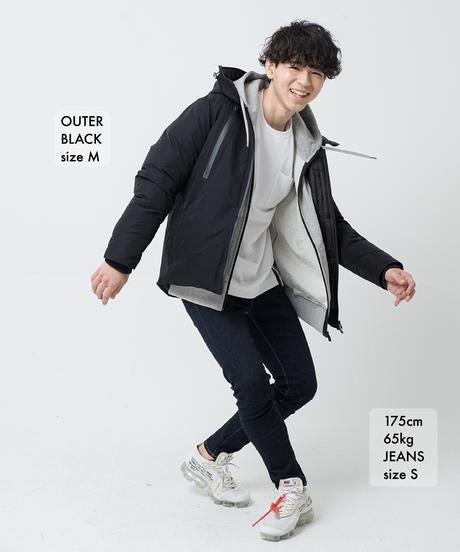 【超脚長】14.5oz Skinny Hyper Stretch Denim Jeans Dark Indigo 19F-222