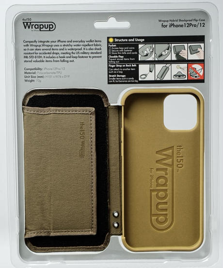 Wrapup for iPhone12Pro/12(Coyote) RE:LORE™限定特典付