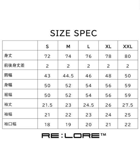 Box Pocket Side Slit Tee Natural White 19S-108