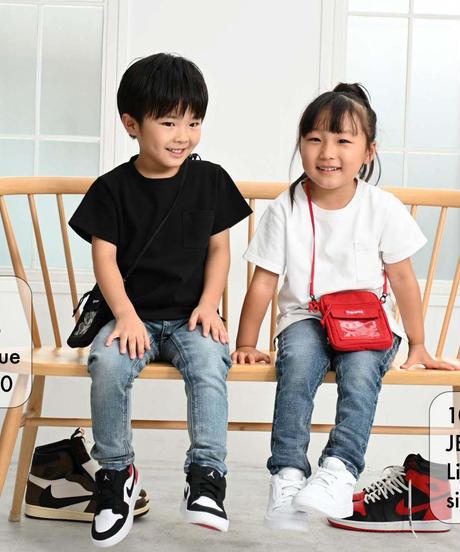 【新価格・在庫限り】Kids Hyper Stretch Denim Jeans Light Blue 19F-226