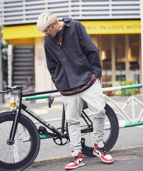 【残り2着】Slim-fit Tapered Sweat Pants T/GRY 19S-202