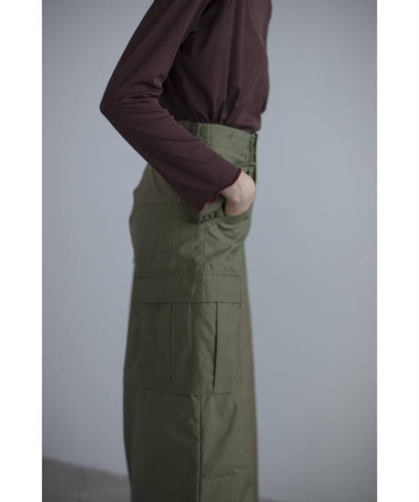 【&her】Patchwork Military Skirt