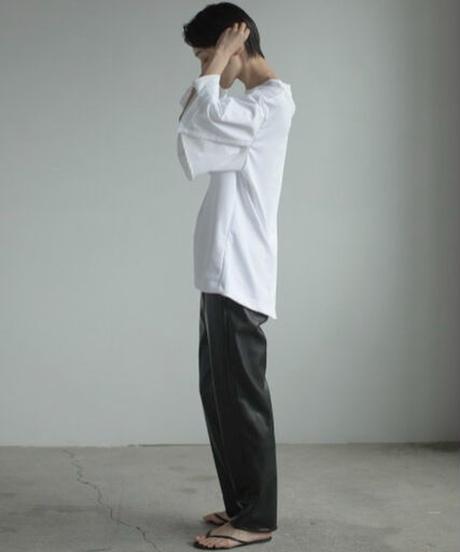 【&her】Flare Sleeve Tshirt/WHITE