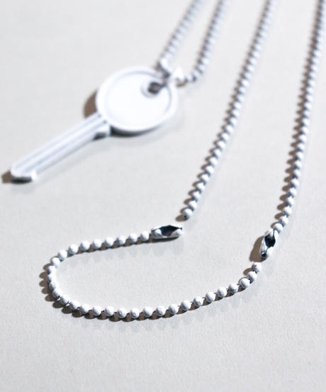 【シルバー925ver.】ANTIQUE KEY NECKLACE (silver)