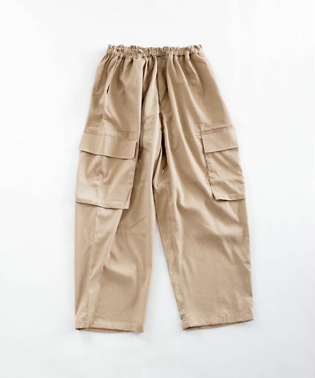 RELAX WIDE MILITARY PANTS