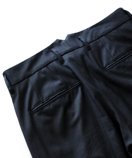 TASMANIAN WOOL INTUCK SLACKS