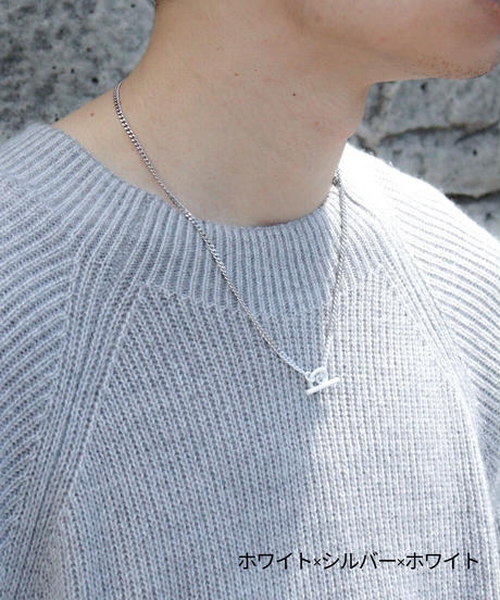 CHAIN NECKLACE (silver925ver./BICOLOR)