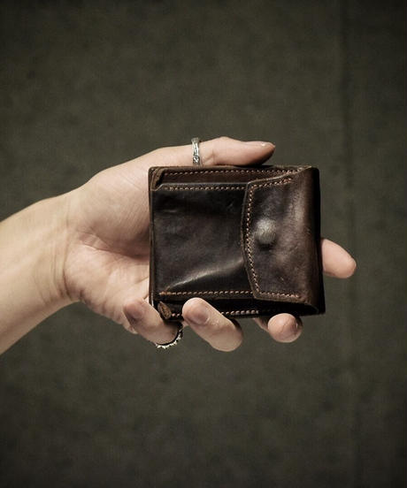 Italian shrink leather Wallet