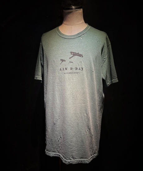 AAW D-DAY TEE (OLD GREEN)