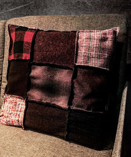 Various fabric cushion  RED