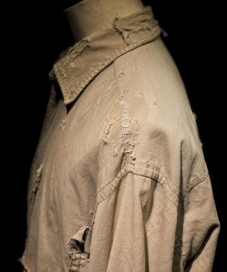 Damage vintage corduroy shirt #3