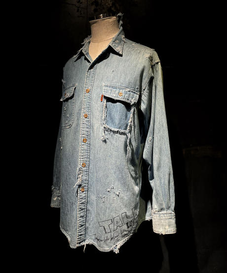 KIYOHARU × RESURRECTION Denim Shirt #7