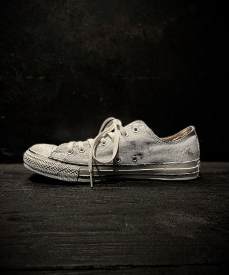 Discoloration Vintage Low cut Sneaker WHITE