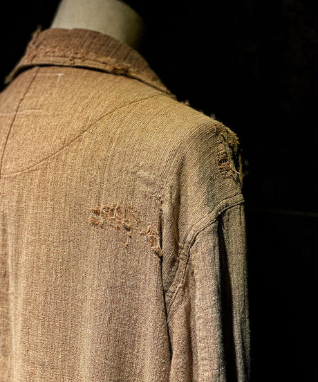 Damage linen cover all jacket