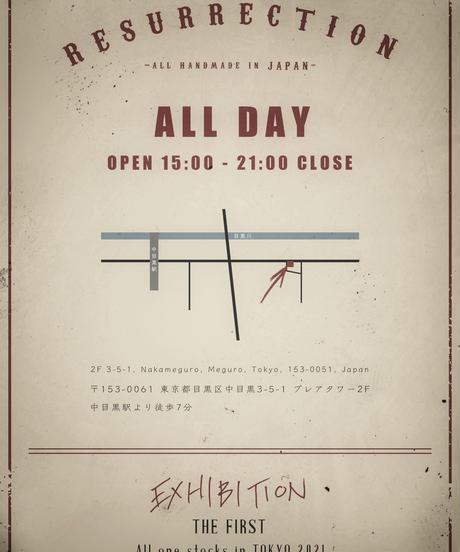BISON TEE EXHIBITION2021 Design (OLD BLACK)
