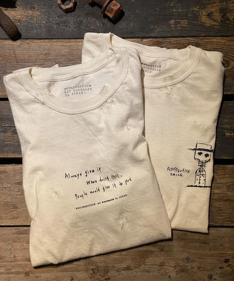 5th anniversary limited design T-shirt (Message)