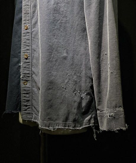 Different fabric damage shirt