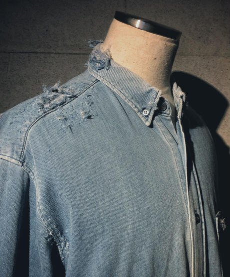 Vintage damage corduroy shirt