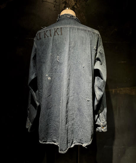 KIYOHARU × RESURRECTION Denim shirt #10