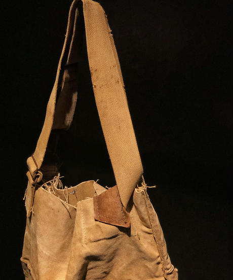 Vintage military Tote Bag & Pouch SET