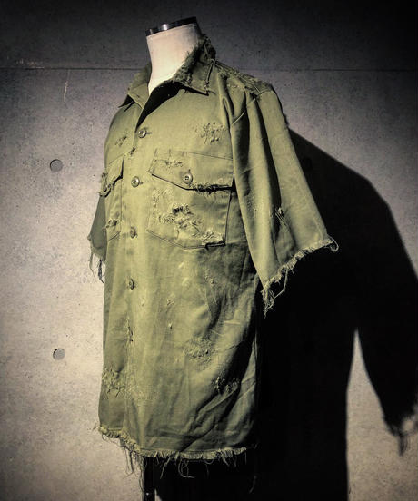 Vintage damage military Half Shirt