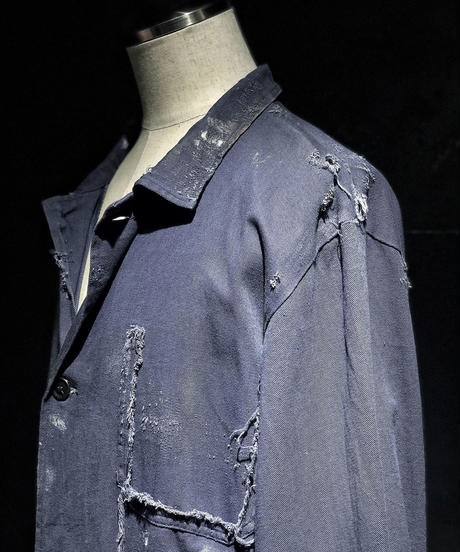Damage vintage coverall jacket