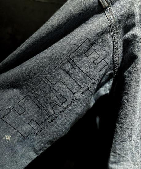 KIYOHARU × RESURRCTION Denim shirt #2