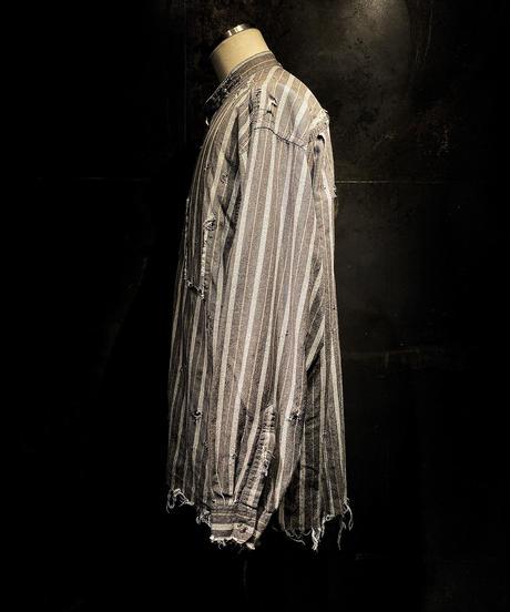 Vintage damage Stripe shirt