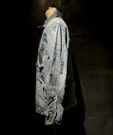 KIYOHARU × RESURRECTION Denim coverall jacket #2