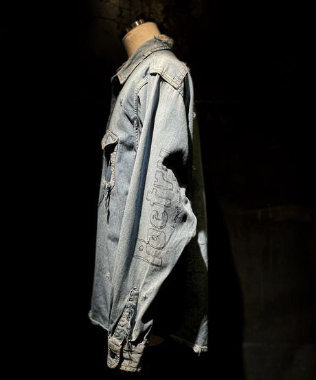 KIYOHARU × RESURRECTION Denim shirt #5