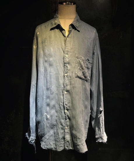 Damage linen shirt